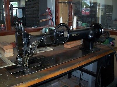 Singer 145wsv38 long arm double needle walking foot sewing machine