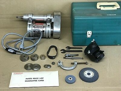THEMAC PRECISION TOOL POST GRINDER TYPE J35 NO. 5225 w/ EXTRAS VGC FREE SHIPPING