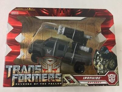 Transformers Revenge of the Fallen IRONHIDE Voyager Class Hasbro Factory Sealed