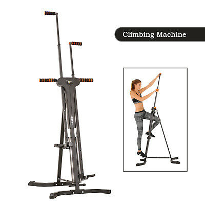 Vertical Climber Stepper Cardio Exercise Fitness Machine w/Monitor Manual Sealed