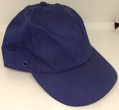 SMALL Royal Blue Cap JSP Oxford 100% Cotton SMALL Size Cap