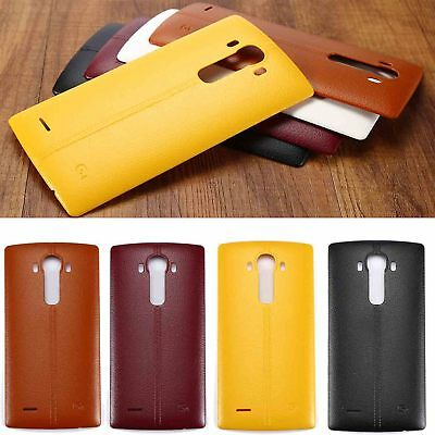 For LG G4 H815 Leather Pattern Case Housing Back Door Battery Cover Replace HO1