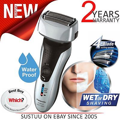 Panasonic ESRF31S 4 Blade Wet/Dry Men's Shaver Trimmer│Rechargeable│Washable│NEW