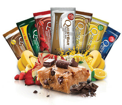Quest Nutrition Protein Bars 12 Pack - ALL FLAVOURS (November 2017 Dated) - NEW!
