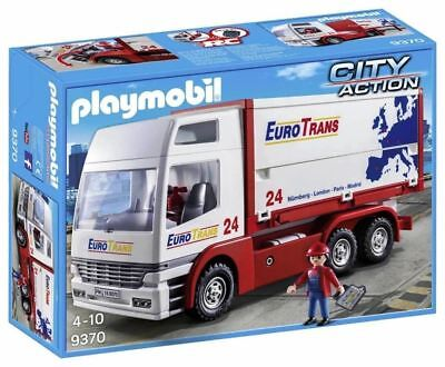 PLAYMOBIL® City Action - Euro Trans LKW / Truck - Playmobil 9370 - NEU