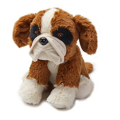 Warmies Boxer Dog Cozy Plush Microwavable Heatable Animal Cuddly Soft Toy