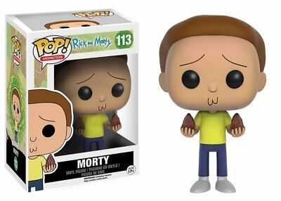 Morty Mega Seed The Rick and Morty TV Show POP! Animation #113 Vinyl Figur Funko