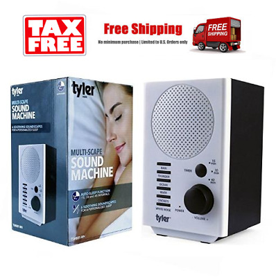 Natural Sleep Aid Sound Spa Relax Machine White Noise Nature Peace Therapy Home