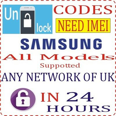 Unlock Code For Orange EE T-Mobile Vodafone UK Samsung Galaxy S6 / S6 Edge Plus
