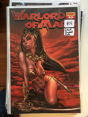 WARLORD OF MARS #3 NM- 1st Pritn J SCOTT CAMPBELL COVER Dynamite Dejah Thoris
