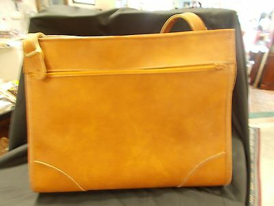 Vintage Hartmann Luggage Carry-On Weekender Tote Briefcase PC Cognac Leather