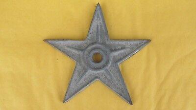 Antique Vintage Cast Iron Building Metal Stars Architectural Salvage