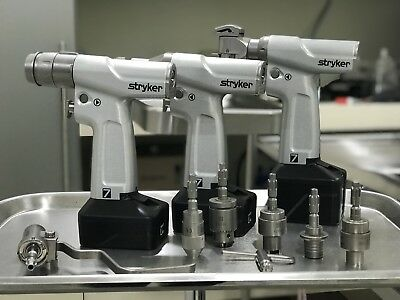 Stryker System 7-Drills - (3 Drills with multiple head attachments)