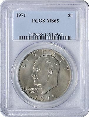 1971 Eisenhower Dollar Ike MS65 PCGS