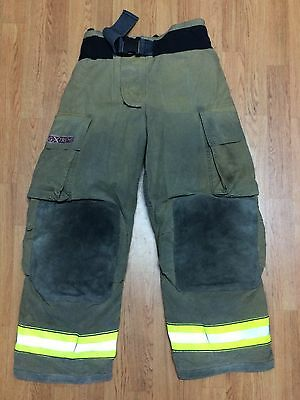 Globe G-Xtreme Firefighter Bunker Turnout Pants 36 x 30 - 2005