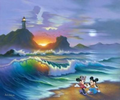 """Mickey Proposes to Minnie"" By Jim Warren"