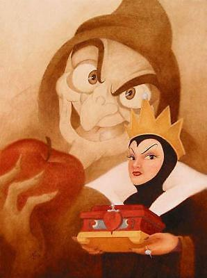 """More Fair Than Thee"" by Mike Kupka inspired by Snow White and the Seven Dwarfs"