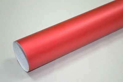 Film Covering Mat Chrome Rouge  52 X 300 Cm (3M)