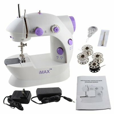 Maquina De Coser Mini 2 Speed Sewing Machine With Foot Pedal