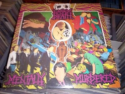 Napalm Death Mentally Murdered MLP 1989