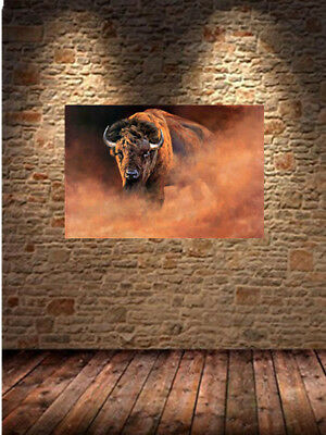 Oil Painting HD Print On Cavans Wall Art Decor ature Scenery Animal cow 14
