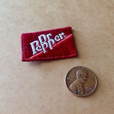Vintage DR. PEPPER Small PATCH