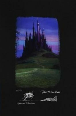 """Sleeping Beauty Castle"" (Deluxe, Chiarograph) By Peter and Harrison Ellenshaw"