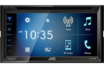 JVC KW-V340BT Double-DIN Bluetooth DVD Receiver
