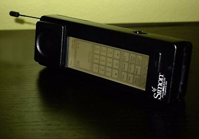 Rare, superb IBM Simon smartphone, world's first! Charger base and good battery.