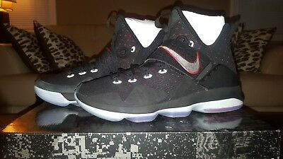 cheap for discount aceef c1548 Nike Lebron 14 XIV Bred 852405-004 University Red Black King James Mens Sz.