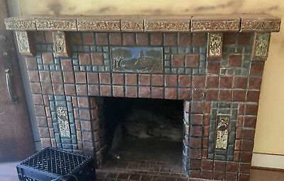 Calco Tile Complete Fireplace  California Malibu Catalina
