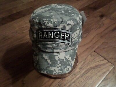 U.s Army Ranger Hat Digital Camouflage U.s Military Style Combat Cap