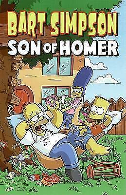 Bart Simpson: Son of Homer (Simpsons Comic Compilations)-ExLibrary