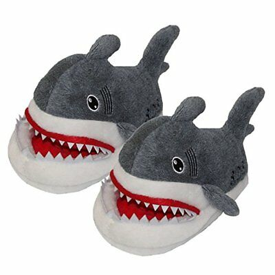 Shark Slippers Non-slip Indoor Home Warm Comfy Cute Winter Soft Cozy Plush Gift