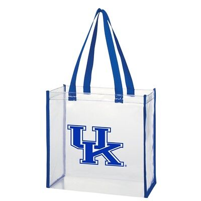 cheaper a4480 00670 Kentucky Wildcats 214 NCAA Licensed Clear Stadium Tote Purse Bag