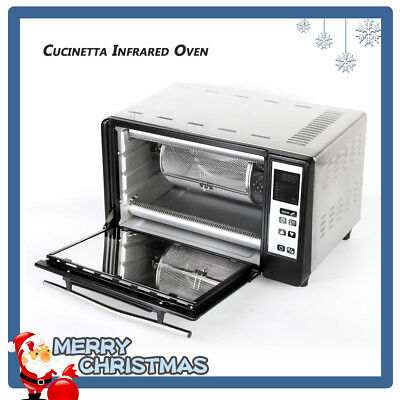 Commercial Countertop Electric Infrared Oven Stainless Steel Smart Oven