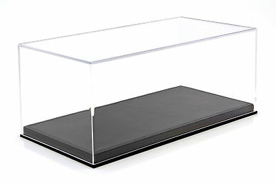 QUALITY ACRYLIC DISPLAY CABINET FOR MODEL CARS ON A Scale of 1:18 Black BBR