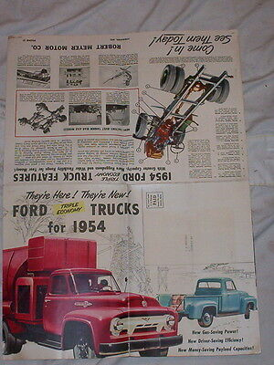 1954-Ford Truck Promotional Brochure