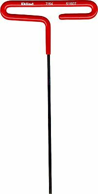 "Eklind 51607 Standard Cushion Grip T-Handle Hex Key 7/64"" x 6"" 7/64"""