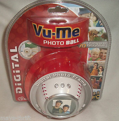 Vu - Me Photo Ball Digital Photo  Frame   **** New ****