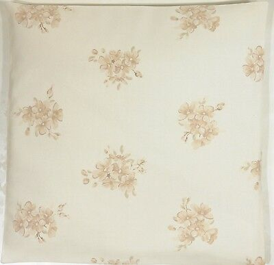 Clarke and Clarke Tilly Natural  Cream Taupe Floral Cushion Cover Size Choice