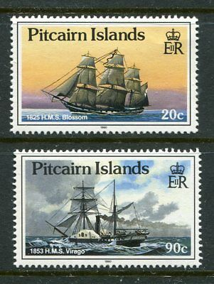 "Pitcairn Islands 1990 Ships with ""1990"" imprint date MNH"