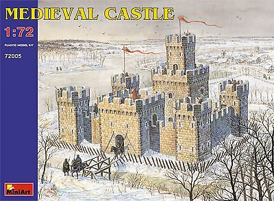 Medieval Castle XII - XV c. << MiniArt #72005, Scale 1/72 scale