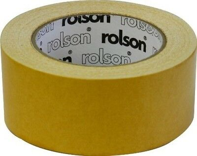 Rolson 60381 Double Sided Carpet Tape, 50 mm by Rolson