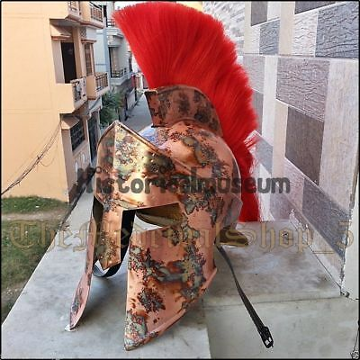 300 Spartan Functional Helmet Roman Armor Medieval King Leonidas Movie Greek