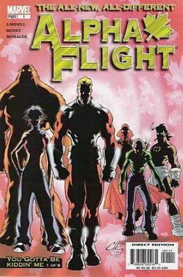 Alpha Flight (Vol 3) #   1 (VryFn Minus-) (VFN-) Marvel Comics AMERICAN