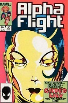 Alpha Flight (Vol 1) #  20 (VryFn Minus-) (VFN-) Marvel Comics AMERICAN