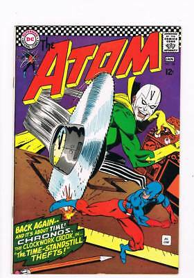 Atom # 28 Time - Standstill Thefts ! grade 8.5 scarce book !!