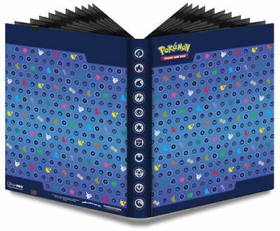 Pokemon Silhouettes Ultra Pro Binder Portfolio Album 9 18 Pocket Holds 360 Cards