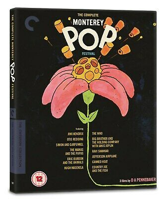 The Complete Monterey Pop Festival - The Criterion Collection (Restored) [Blu-